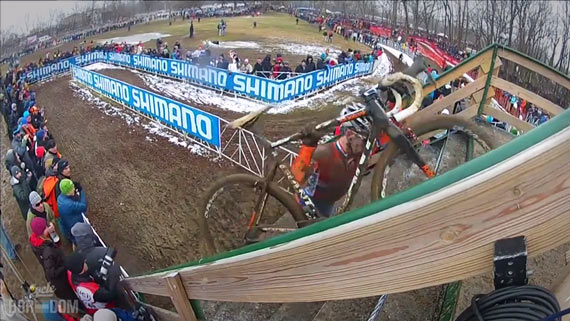 Screencap Recap: 2013 UCI Cyclocross World Championships - Van der Haar Alone