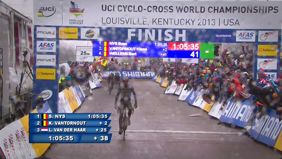 Screencap Recap: 2013 UCI Cyclocross World Championships - Wellens Fourth!!