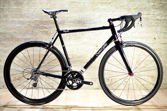 The CremaCycles Rapha Continental Bike