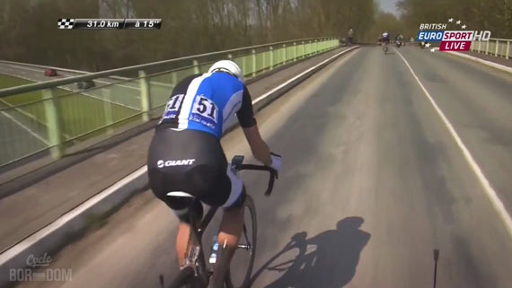 Screencap Recap: Paris-Roubaix 2013 - Fabs Goes