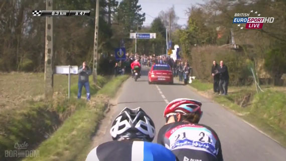 Screencap Recap: Paris-Roubaix 2013 - Fabian Mind Tricks