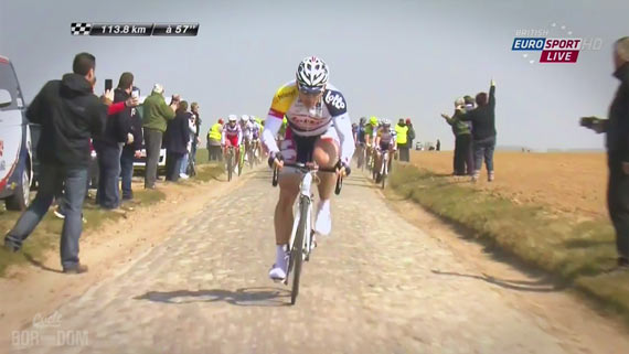Screencap Recap: Paris-Roubaix 2013 - When Gorillas Attack