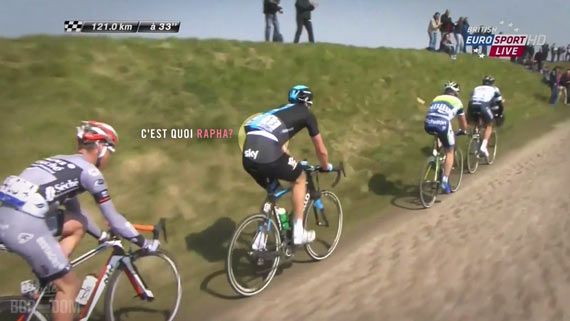 Screencap Recap: Paris-Roubaix 2013 - Hayman Jersey Creep