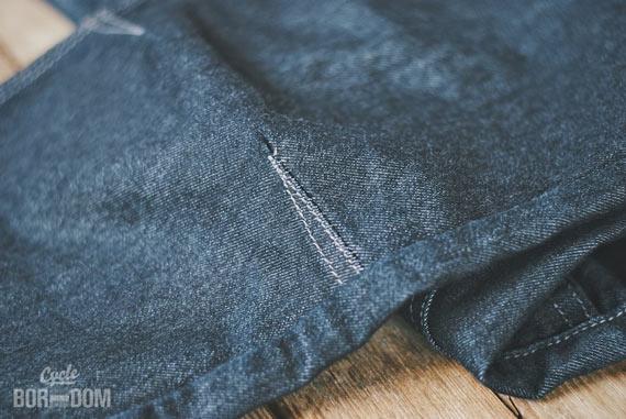 What I'm Riding: swrve Cordura Skinny Fit Jeans - Knee
