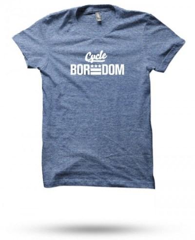 SOB: Cycleboredom #BikeDC E-Flag T-Shirt