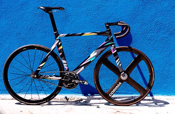 Fuggin' Sick Death Spray Custom Track Bike on Tracko