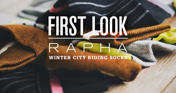 First Look: Rapha Winter City Riding Socks