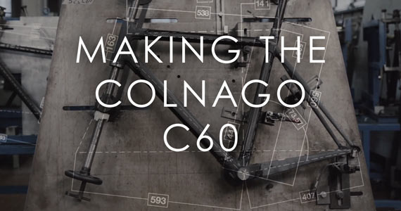 Making the Colnago C60