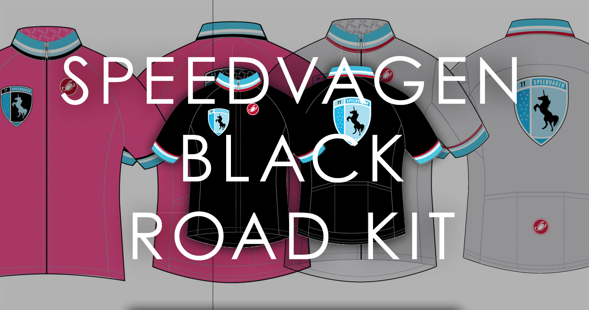 Always been a fan of the kits Vanilla/Speedvagen have put out and this one's no different. Nieuw black Castelli made kit is pre-order only and deadline is March 1st.