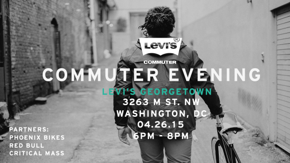 #BikeDC: Commuter Evening @ Levi's Georgetown