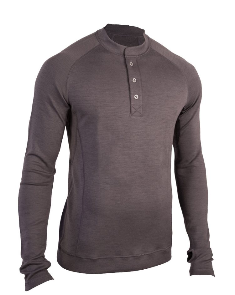 Released: Showers Pass Bamboo-Merino LS Sport Henley Shirt