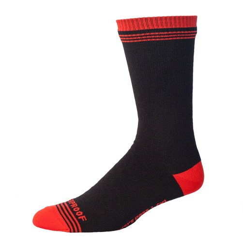 Released: Showers Pass Crosspoint Waterproof Socks - Red Crew Sock