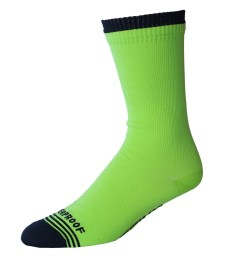 Released: Showers Pass Crosspoint Waterproof Socks - Hi-Viz Crew Sock