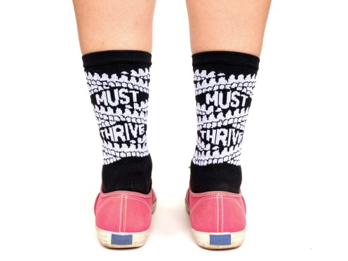 Released: Must Thrive Socks by Krista Marie for Polycystic Kidney Disease Foundation