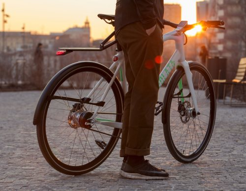 Released: Volata Cycles Model 1C Urban Smart Commuter Bike
