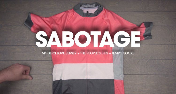 #MailDrop: Sabotage Cycling Drops the Modern Love Jersey, The People's Bibs, and Tempo Socks