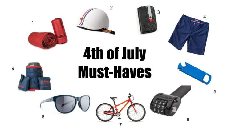 4th of July Essentials (Also Quite Adequate for the Rest of Summer)!!