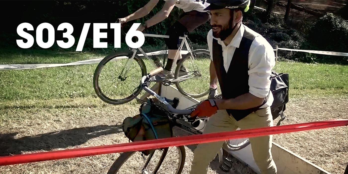 DAPPER CYCLIST WON'T GET OFF THE COURSE - S03/E16 - The CXOff