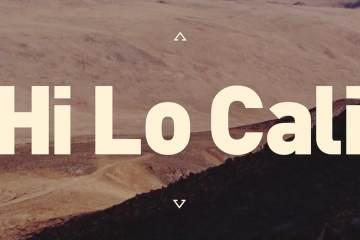 Vernor + Cannondale x Death Valley = Hi Lo Cali