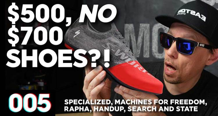$500, No Wait—$700 Cycling Shoes?! :: KOTW - 005