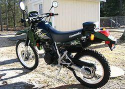 Kawasaki Kl250d Klr250 History Specs