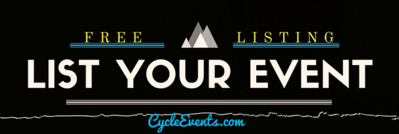 Cycleevents.com  for your cycle Event