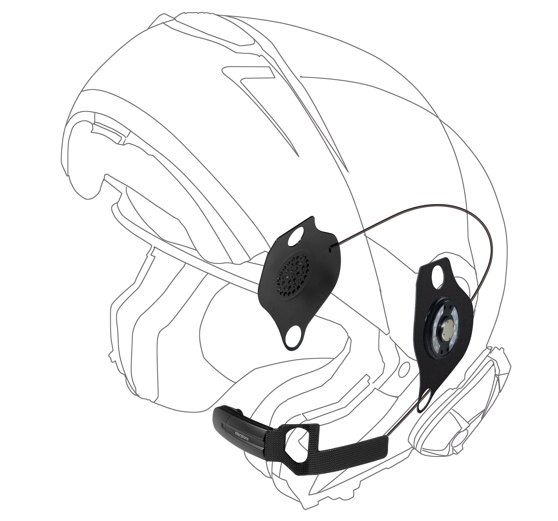Motorcycle Bluetooth Helmet Speakers Headsets Amp Kits