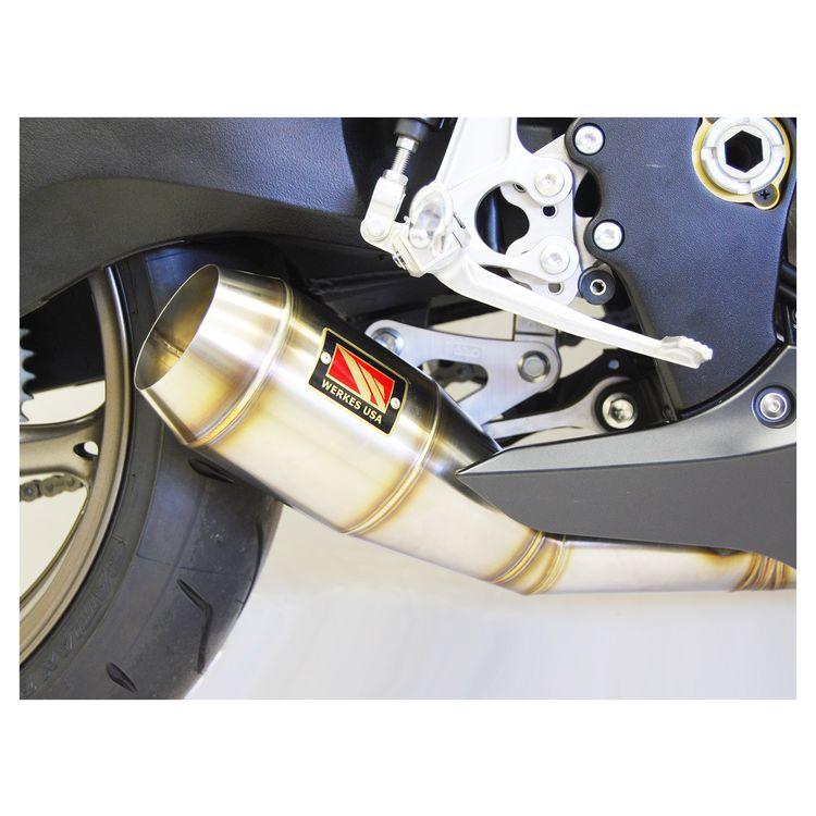 competition werkes gp slip on exhaust suzuki gsxr 1000 2009 2011