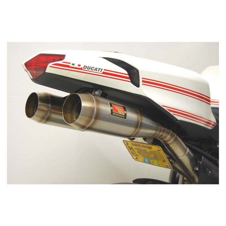 competition werkes gp slip on exhaust ducati 848 1098 1198