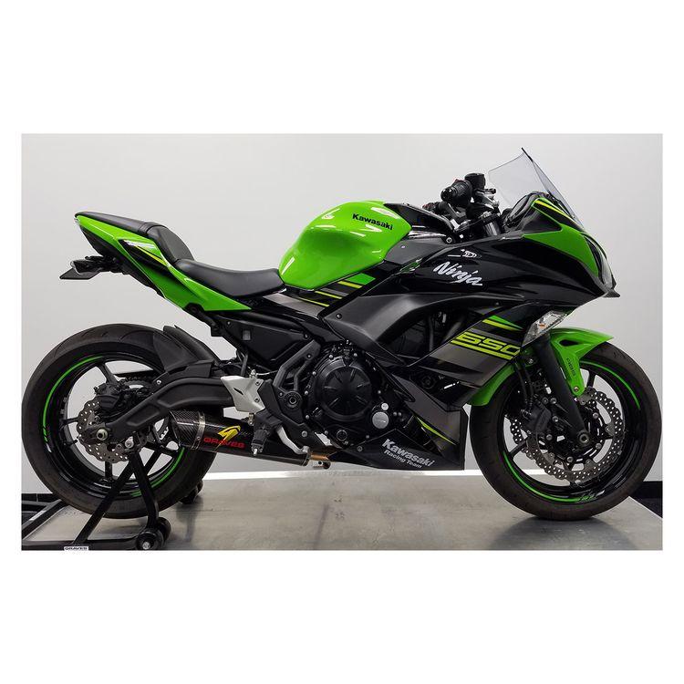 slip on exhaust 2017 ninja 650 65