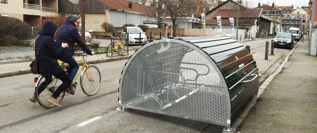 """Résultat de recherche d'images pour """"rue de new york grenoble bike hangar"""""""