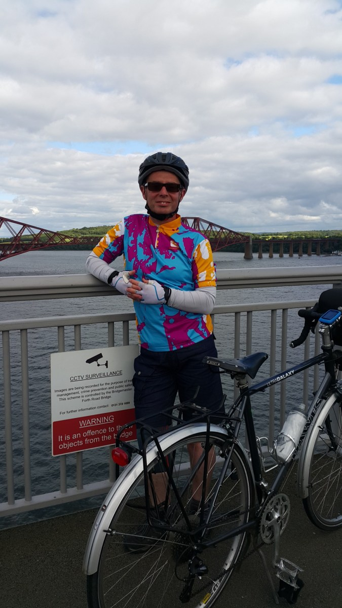 JOGLE Day 5 - Pitlochry to Edinburgh
