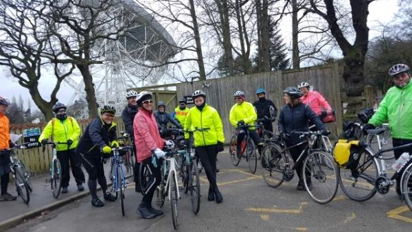 Redesmere Ride via Jodrell Bank