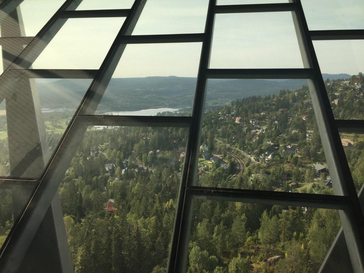 Holmenkollen ski jump tower