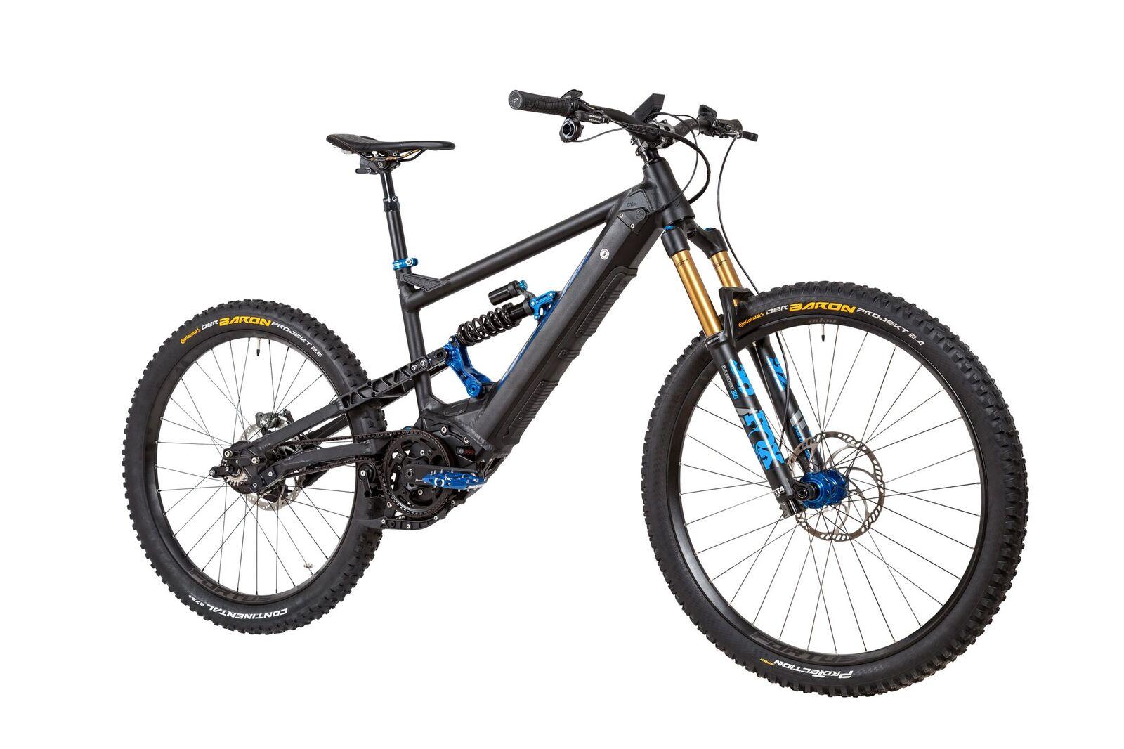 Nicolai G1 Eboxx E14 Electric Mountain Bike W Rohloff