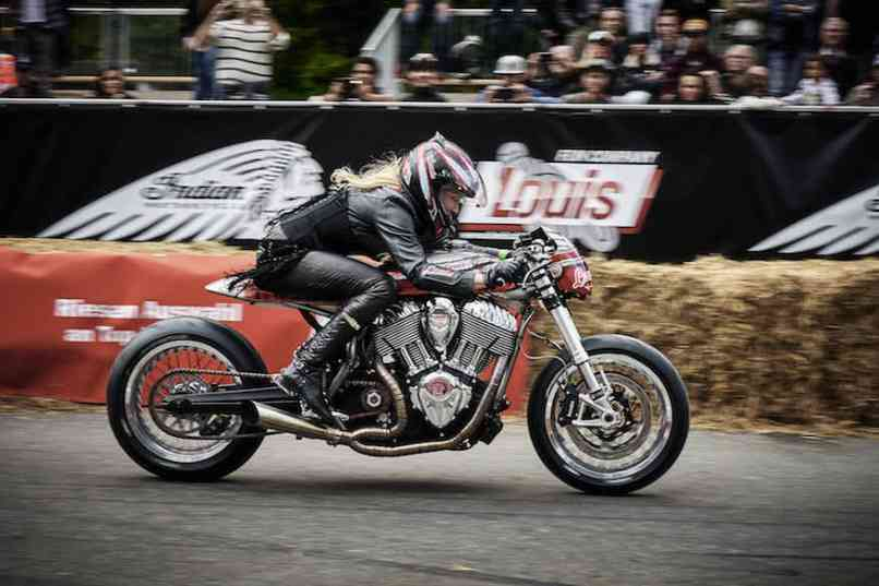 Engina Indian Motorcycle Café Racer