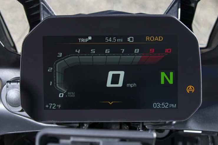 The GS's new dash is a winner.