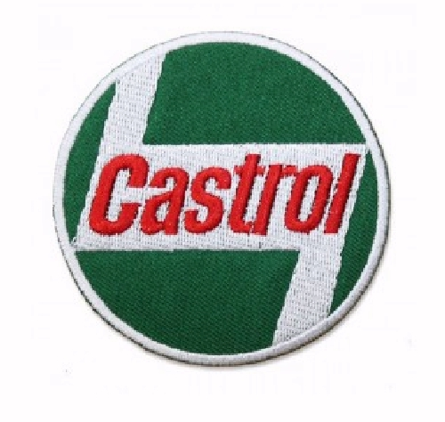 CASTROL OID BEER IRON JACKET TSHIRT CAP HAT HOODIE PATCH ON EMBROIDERED