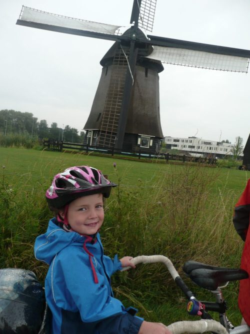 cycling trip to Holland with young children