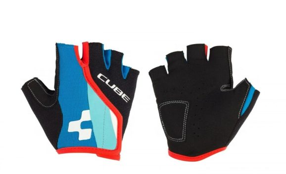 Cube junior fingerless cycling gloves