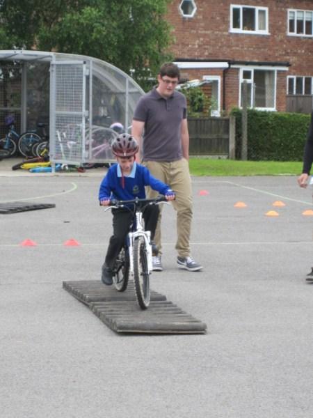 Savidge Skills Stunt Bike Riders train at schools