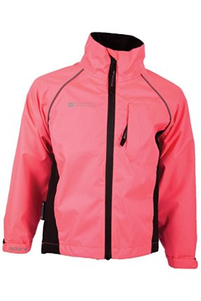Mountain Warehouse kids waterproof cycling jacket