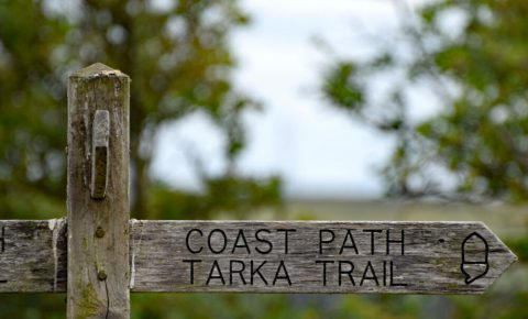 Tarka Trail and Coast Path sign 1