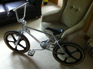 Father and son bonding time - building a BMX with my son
