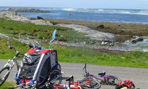 Family cycling holiday to Colonsay