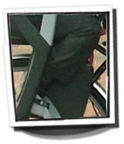 Polisport Guppy Maxi child seat
