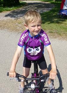 Mr Grumpy kids size cycling jersey