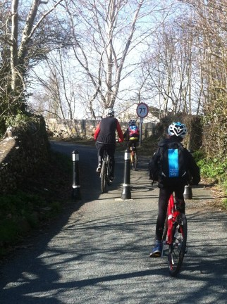 Family cycle ride 2