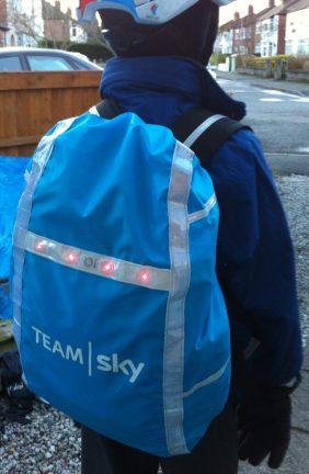 Waterproof cover for kids rucksack