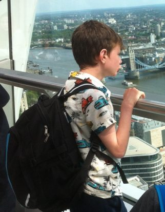 Team Sky kids rucksack review